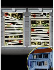 Dekoration 2 zombie vinduer