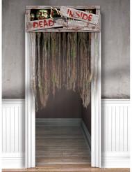 Dekoration zombie dør