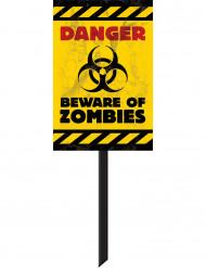Skilt zombie