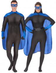 Sæt superhelt blå voksen