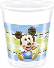 8 Krus med Baby Mickey™ 20 cl