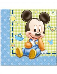 20 Papirservietter - Baby Mickey™ 33 x 33