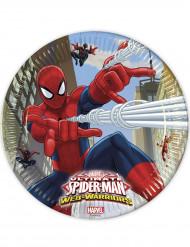 8 Tallerkener Spiderman™ 23 cm.