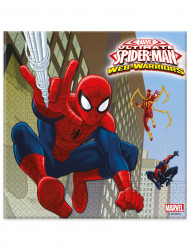 20 Servietter Spiderman™ 33 x 33 cm.