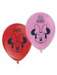 8 Balloner Minnie™ 28 cm.