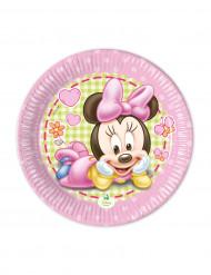 Små tallerkener 8 stk. Baby Minnie™