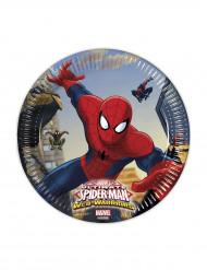 8 Tallerkener Spiderman™ 20 cm.