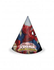 6 Partyhatte Spiderman™
