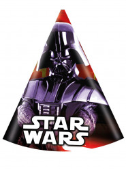 6 partyhatte Darth Vader Star Wars™