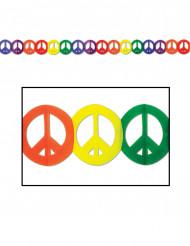 Guirlande multifarvet peace