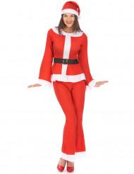 Kostume bukser julemandens kone til voksne