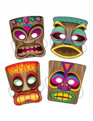 4 masker Tiki