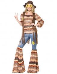 Udklædningsdragt hippie harmoni kvinde