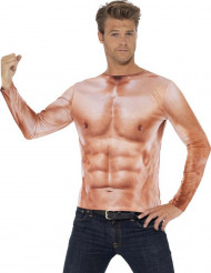Bluse muskuløs overkrop voksen