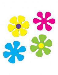 Dekoration retro blomster