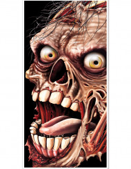 Dørdekoration Zombie Halloween