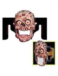 Dekoration til toiletrulle-holder Zombie Halloween