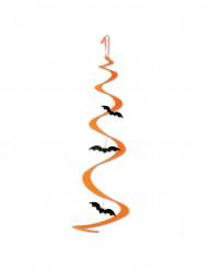 Dekoration hængende spiral flagermus Halloween