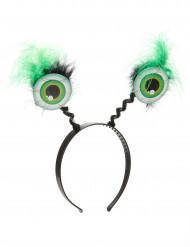Hårbånd med grønne øjne