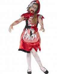 Udklædningsdragt zombie Rødhætte Halloween