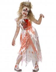 Kostume zombie-prinsesse Halloween piger