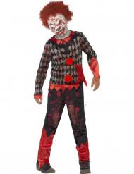 Udklædningsdragt zombieklovn Halloween Barn