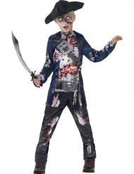 Kostume zombie pirat til drenge Halloween