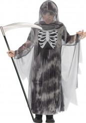 Halloween skelet manden med leen til børn