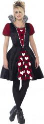 Teenageprinsesse-kostume med hjerter