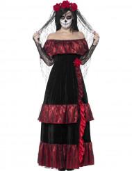 Udklædning mexikansk brud Día de los Muertos voksen halloween