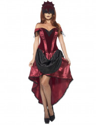 Femme fatale-kostume voksen