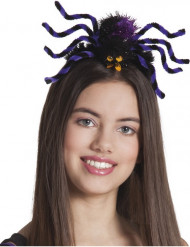 Hårbånd edderkop lilla kvinde halloween