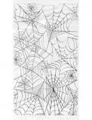 20 poser i plastik med edderkoppespind Halloween