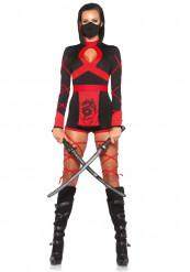 Sexet ninjakostume til kvinder