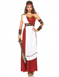Kostume romersk kriger kvinde