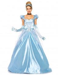 Kostume blå prinsessekjole kvinde