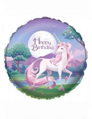 Ballon magisk unicorn 46 cm