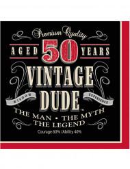 Vintage servietter 50 år