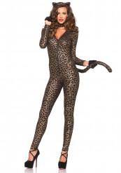Sexet leopard-kostume kvinde