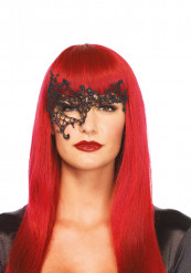 Venetiansk maske sort