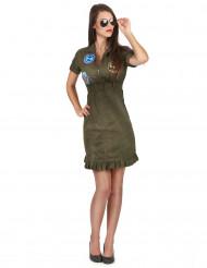 Kostume lækker kjole Top Gun™ med briller