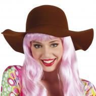 Brun hat - kvinde