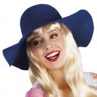 Marineblå hat - kvinde