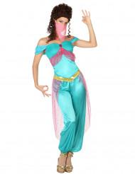 Orientalsk inspirerede danserindekostume dame