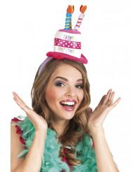 Diadem med fødselsdagshat - voksen