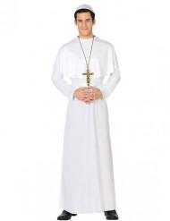 Hvidt pavekostume til mænd
