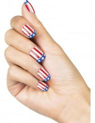 Selvklæbende USA kunstige negle