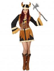 Vikingekostume kvinde