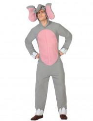 Kostume elefant til voksne
