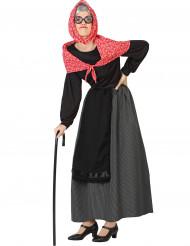 Kostume gammel dame